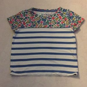 Girls Mixed Print T-shirt